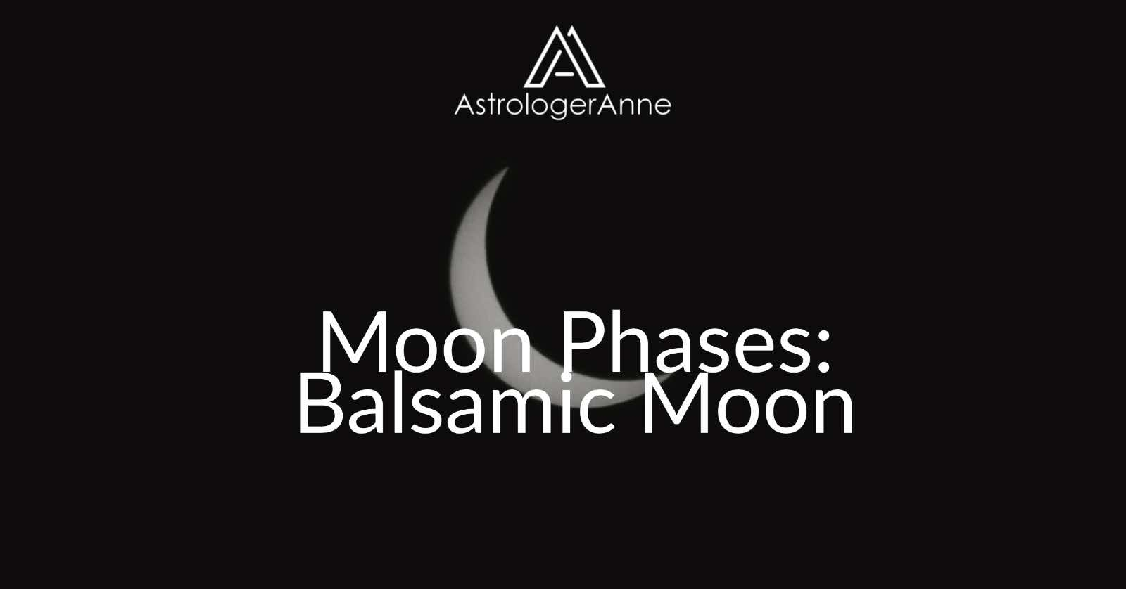 Balsamic Moon phase graphic