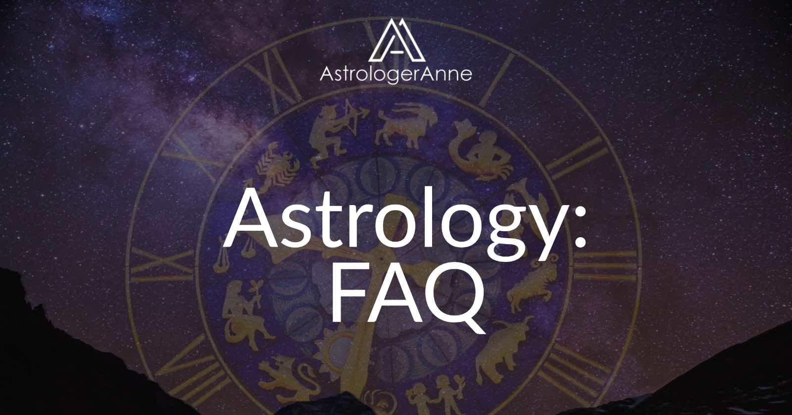 Astrology FAQ - How can I find out my birth time