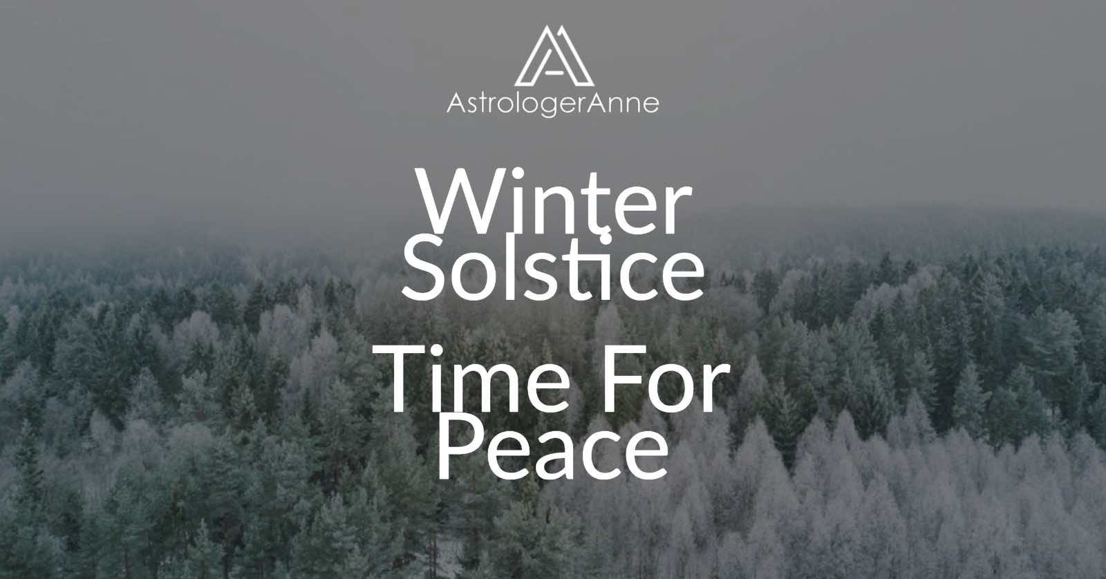 Winter solstice - time for peace