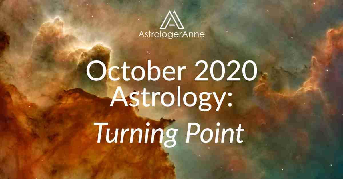 Cosmic sky - October 2020 Astrology