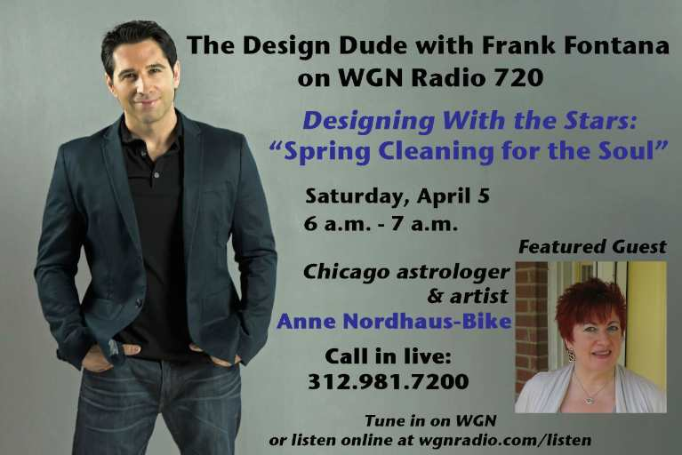 Podcast for spring cleaning with astrology show on WGN Radio