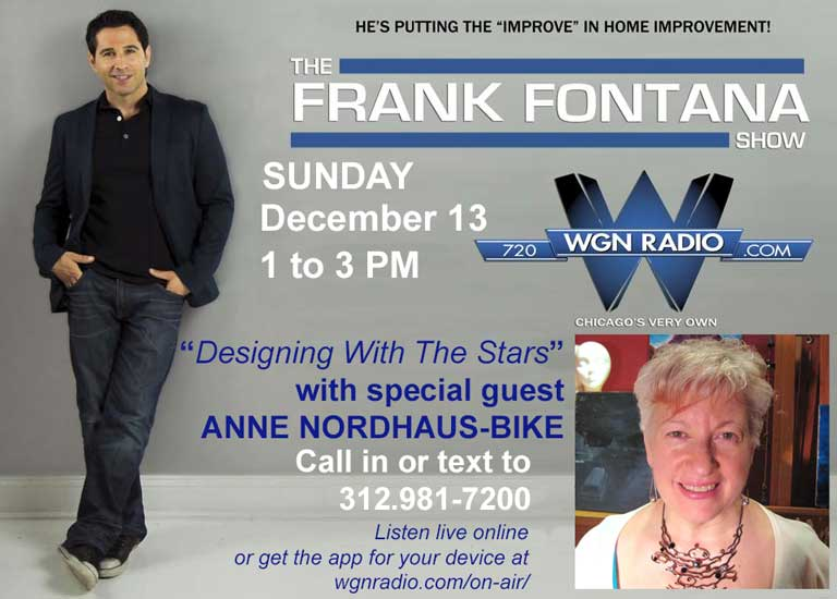 Poster for December astrology podcast on WGN Radio
